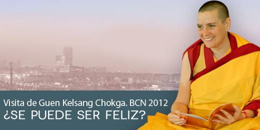 Guen Kelsang Chokga presenta BUDISMO MODERNO en la Llibreria Excellence de Barcelona.